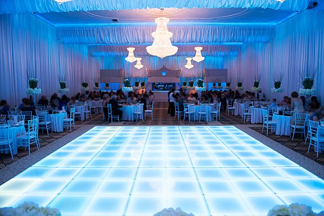 perfect wedding venue for a great first dance